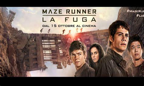 film completo maze runner la fuga film in uscita al cinema ottobre 2015 quot maze runner la