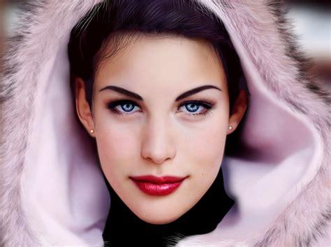 imagenes mujeres rostros pinturas bellas al oleo car interior design