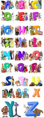 Disney Character Letter Y Disney Buzz Lightyear And Mulan On