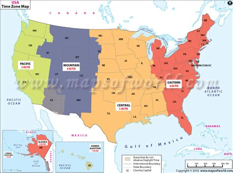 usa time zone wall map buy us time zone map