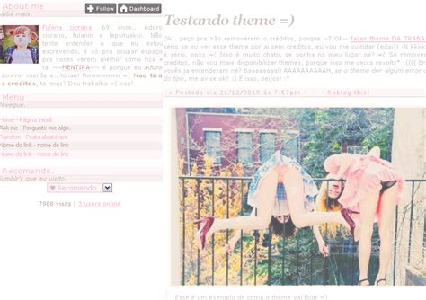 themes for tumblr dolliecrave themes para tumblr by thamy html