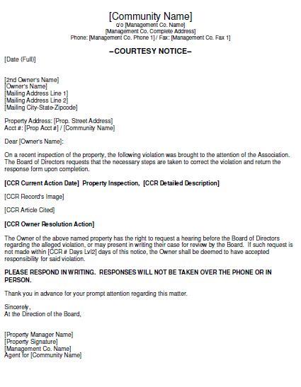 Response Letter For Non Compliance Sle Enforcement Letters