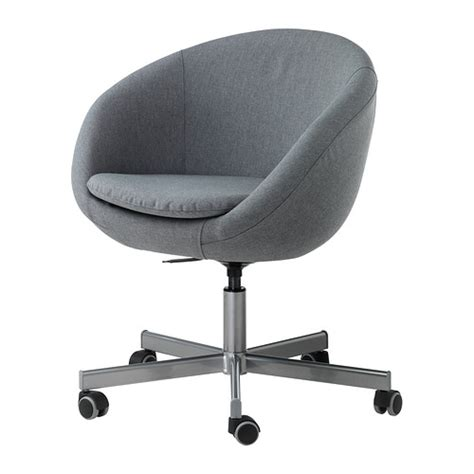 Skruvsta Swivel Chair Vissle Grey Ikea Skruvsta Swivel Chair