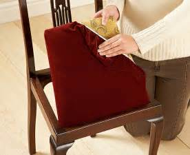 Dining Room Chair Seat Covers Dining Chair Seat Covers Casual Cottage