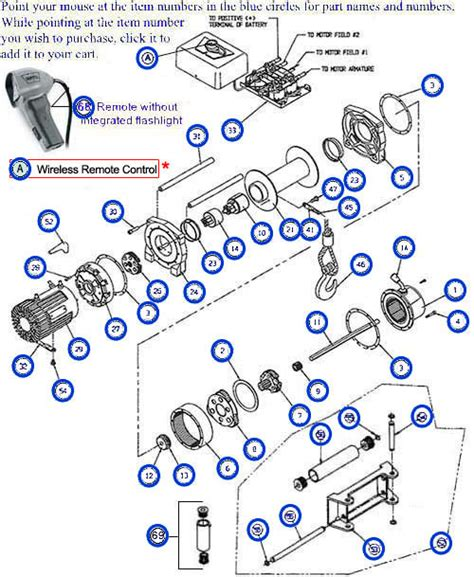 warn winch a2000 wiring diagram get free image about