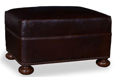 walnut ottoman a r t furniture kennedy walnut leather ottoman