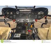 Helicopter Cockpit  Puma SA 330 Stock Photo Image 59094597