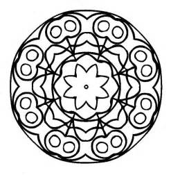 coloring pages mandala mandalas coloring part 4