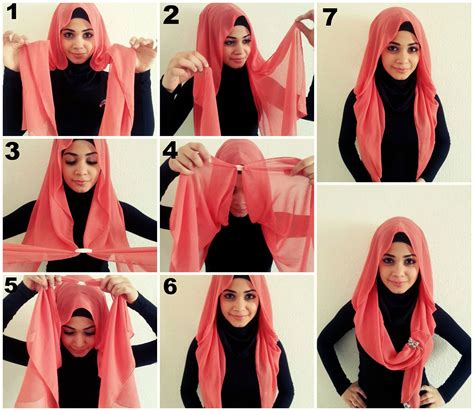 Step By Step Pictorial Tutorials Of Different Style Puff | 30 hijab styles step by step style arena