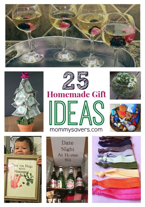 25 gift ideas 25 frugal holiday gift ideas and easy homemade gifts