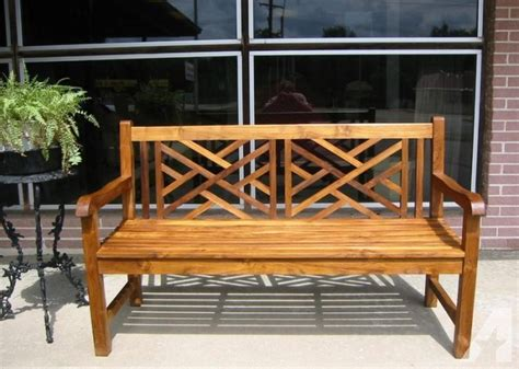 chippendale patio furniture patio garden furniture gorgeous teak chippendale bench for sale in valdosta