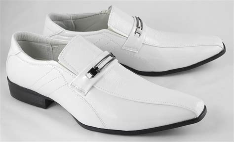 mens white shoes dress shoes ideal weddings