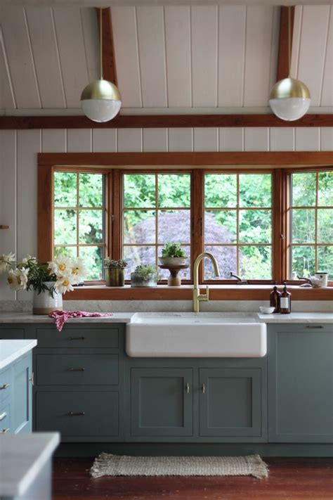 Painting Wood Windows White Inspiration Farmhouse Sinks Kitchen Inspiration The Inspired Room