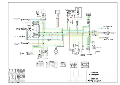 kymco agility 50 wiring diagram new racing cdi wiring