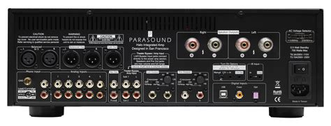 Pre Parasound 2100two Channel Pelifier parasound halo integrated lifier