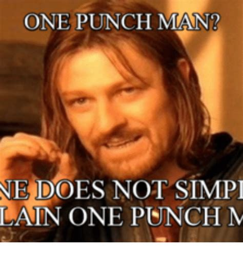 Punch Meme - 25 best memes about one punch man build one punch man