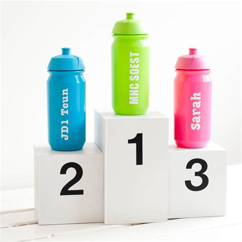 personalised sports bottle by simply colors