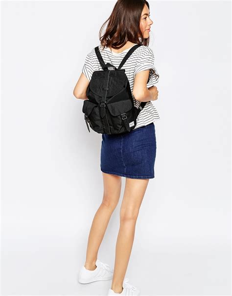 Original Herschel Dawson Xs Backpack Black Mini Floral herschel bag with fantastic creativity sobatapk