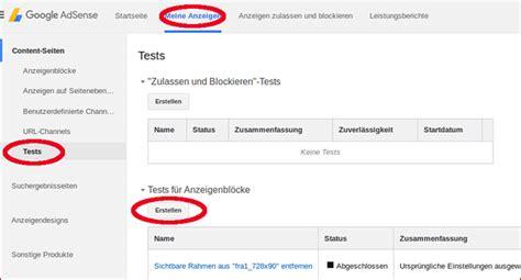 adsense quiz adsense a b test 220 bersicht mehr mit adsense verdienen