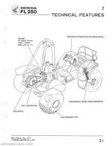1977 1984 fl250 honda odyssey service manual