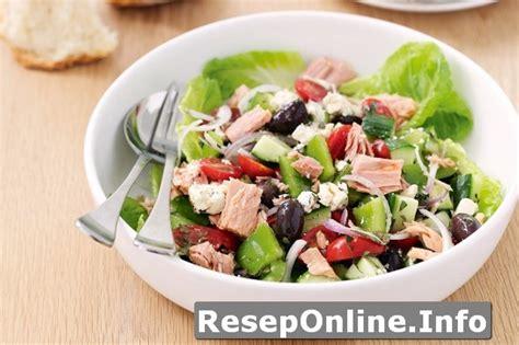 membuat salad sayur di rumah resep masakan diet dengan kombinasi salad buah dan tuna