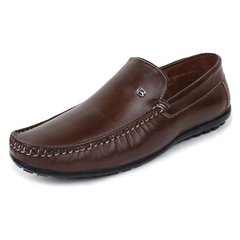 Loafers Moccasins For Brown buwch brown stylish loafers buy loafers and moccasins for