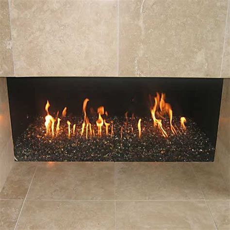 glass rock fireplace 72 best images about fabulous fireplaces on