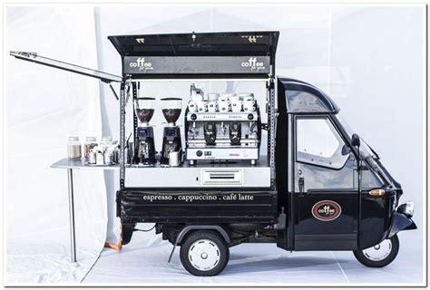 Mobil Up Piaggio Ape Mini ape cappuccino lagermax foodtruckzonthego