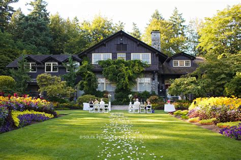 Tea House Vancouver by Stanley Park Pavilion Tea House In Stanley Park Wedding