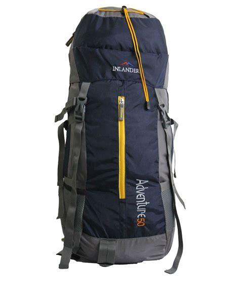 Inlander Blue inlander navy blue polyester hiking backpack buy