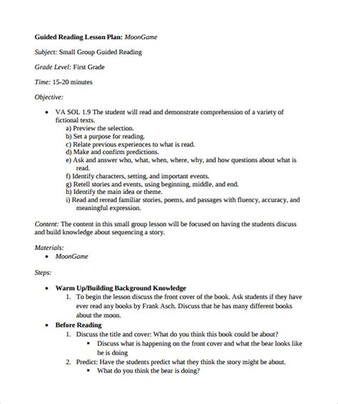 madeline lesson plan template doc doc 612792 sle madeline lesson plan template