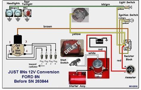 1952 farmall cub 6 volt wiring diagram kohler engine cub