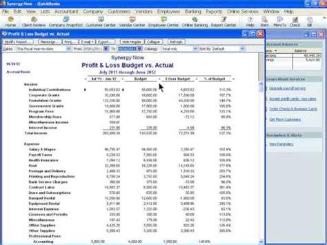 quickbooks tutorial budget hqdefault jpg