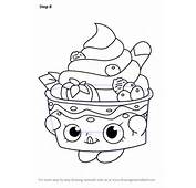 Learn How To Draw Yo Chi From Shopkins Step By