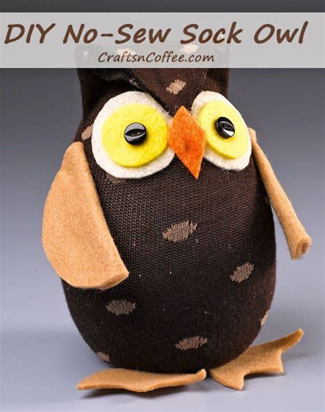 diy sock animals no sew 1471 best images about owl crafts on owl purse