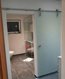 glasschiebetã ren badezimmer glasschiebet 252 r mit edelstahl beschlag glasschiebet 252 ren glasprofi24