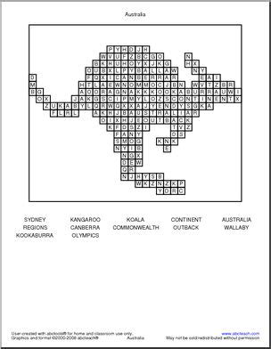 easy crossword puzzles australia 78 best images about word search on pinterest groundhog