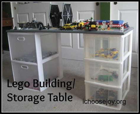 Lego Building Table With Storage by Pin By On Crafts Home