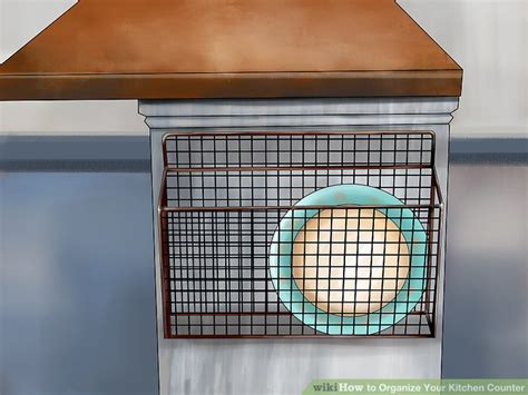 how to organize your kitchen counter 3 ways to organize your kitchen counter wikihow
