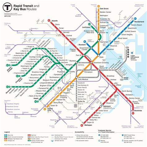 boston map subway boston unveils new map of quot the t quot subway system