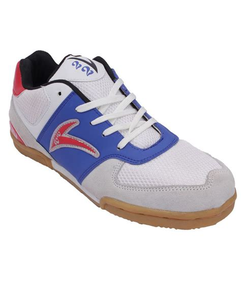 sports shoes for badminton v22 scream badminton sport shoes white blue price in