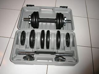 Barbel Warna dumbbell set 10 15 20 kg black and silver sporting equipment