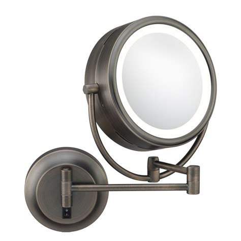 begrit bathroom makeup cosmetic mirror two sided wall wall mounted makeup mirror double sided in wall mirrors
