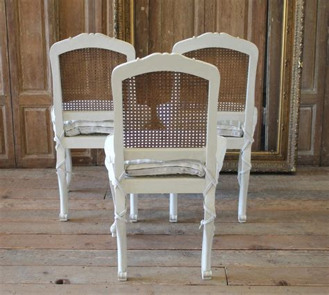 set   french country louis xv style cane  dining