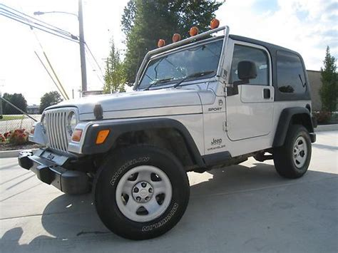 Jeep 104th Purchase Used 1999 Jeep Wrangler Sport Sport Utility 2