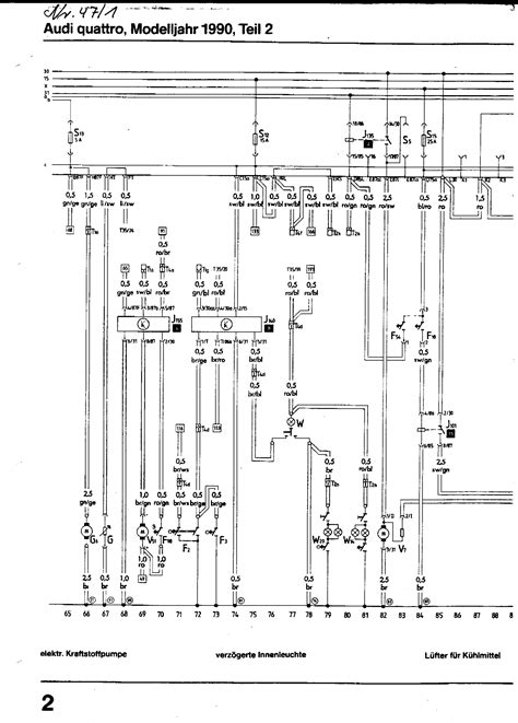 1990 audi coupe quattro electrical wiring diagrams 1990 audi quattro wiring diagram 1990 toyota celica