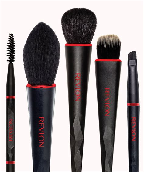 Revlon Brush Set revlon and bmw collaborate on makeup brushes instyle