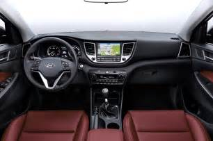 european spec 2016 hyundai tucson interior photo 2