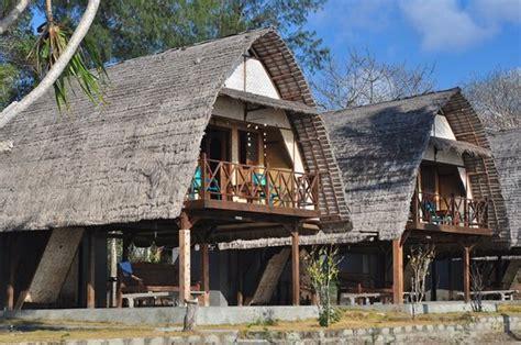 территория bild von gili nanggu cottages and bungalows