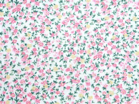 flower pattern dress fabric pure cotton fabric pink flower floral spot shabby chic